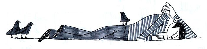 гопник спит